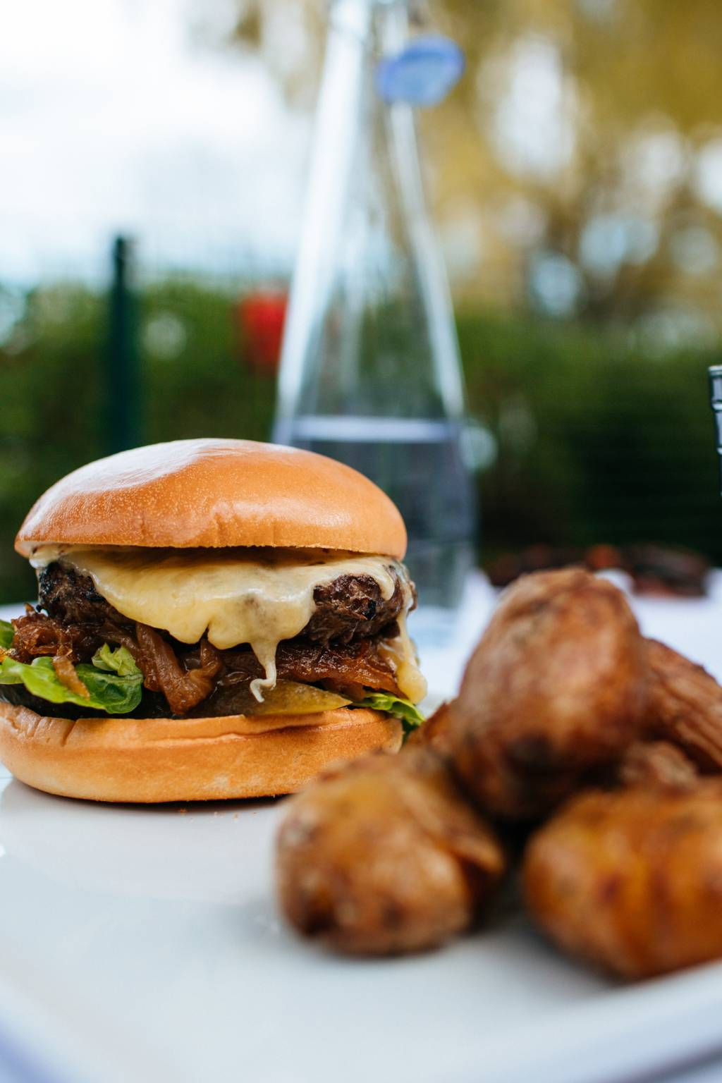 Ravintola Töölönrannan burgeri
